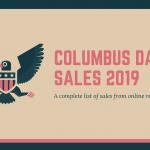 columbus day sales 2019