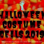 halloween costume deals 2019