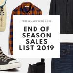 end of season sales 2019