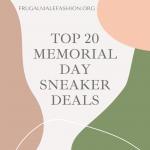 memorial day sneaker deals